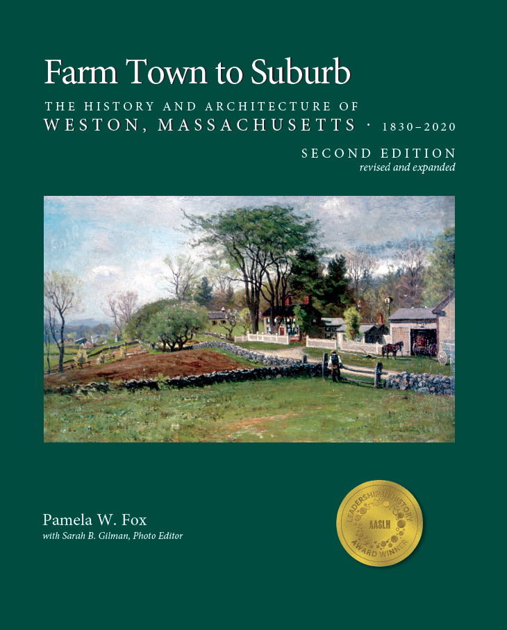 book cover of Farm Town to Suburb