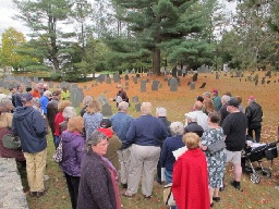 Cemetery Tour Crowd