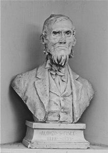 Bust of Alonzo Fiske